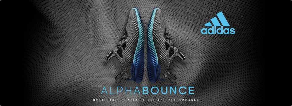 ALPHA BOUNCE BREATHABLE DESIGN LIMITLESS PERFORMANCE