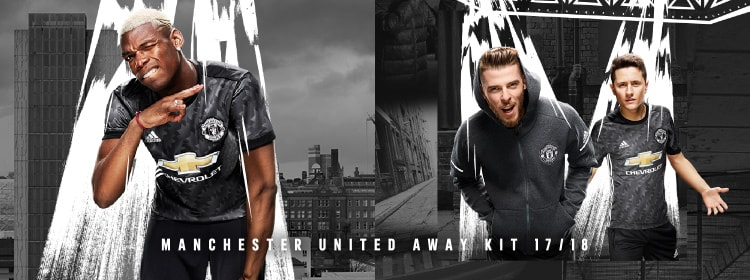 MANCHESTER UNITED マンチェスター ユナイテッド AWAY KIT 17/18