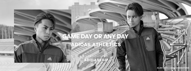 GAME DAY OR ANY DAY ADIDAS ATHLETICS  INTRODUCING ADIDAS24/7