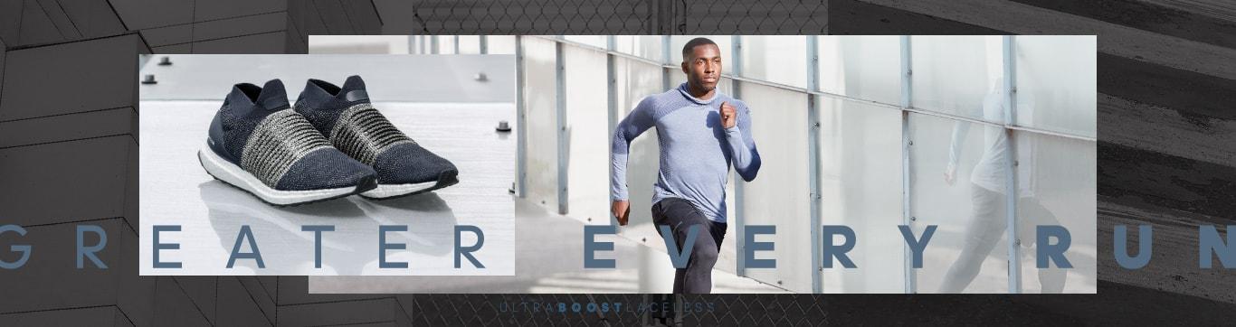 ULTRA BOOST LACELESS シンプルに。走り、研ぎ澄ます。