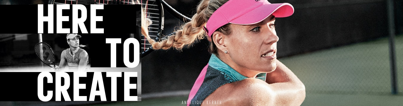 adidas tennis HERE TO CREATE ANGELIQUE KERBER アディダス テニス アンゲリク・ケルバー