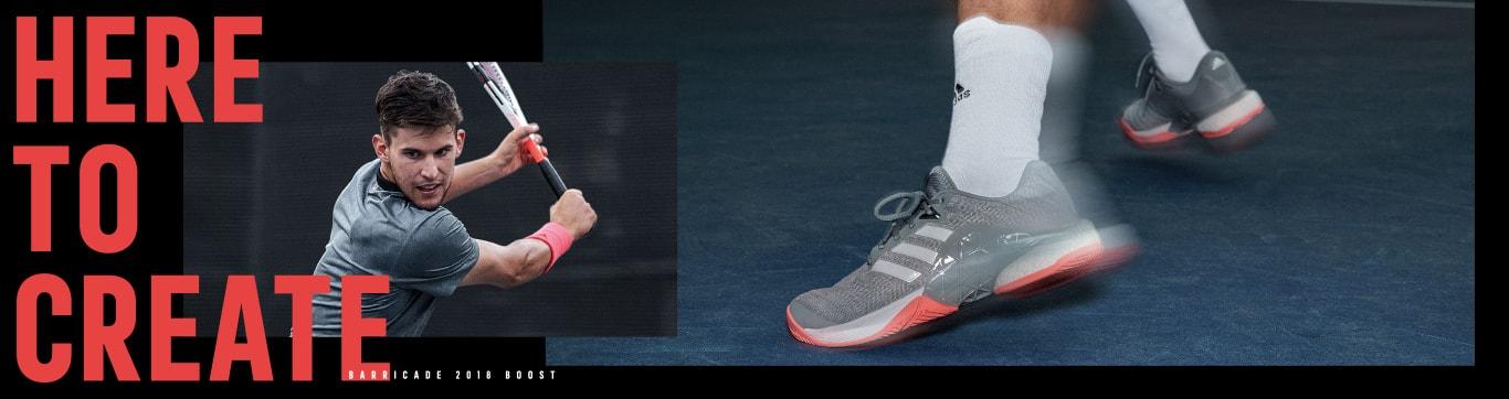 adidas tennis HERE TO CREATE BARRICADE 2018 BOOST アディダス テニス バリケード 2018 ブースト
