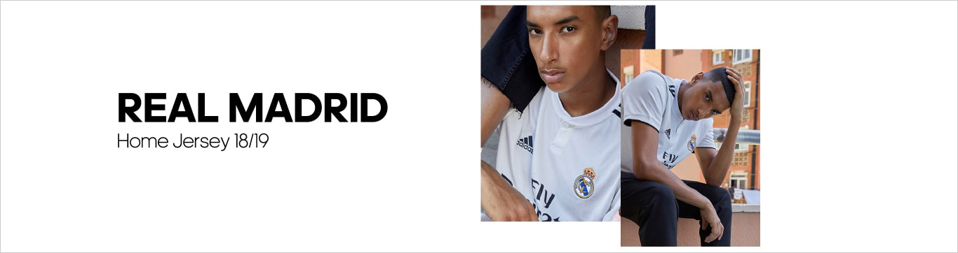 Real Madrid Home Jersey 18/19 レアルマドリード ホーム ジャージー