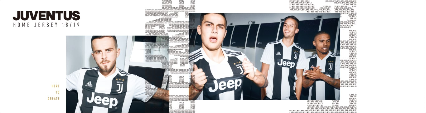 JUVENTUS HOME Jeasey 18/19 ユベントス ホーム ジャージ