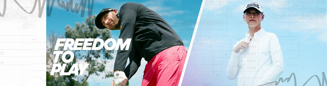 adidas golf FREEDOM TO PLAY アディダス ゴルフ