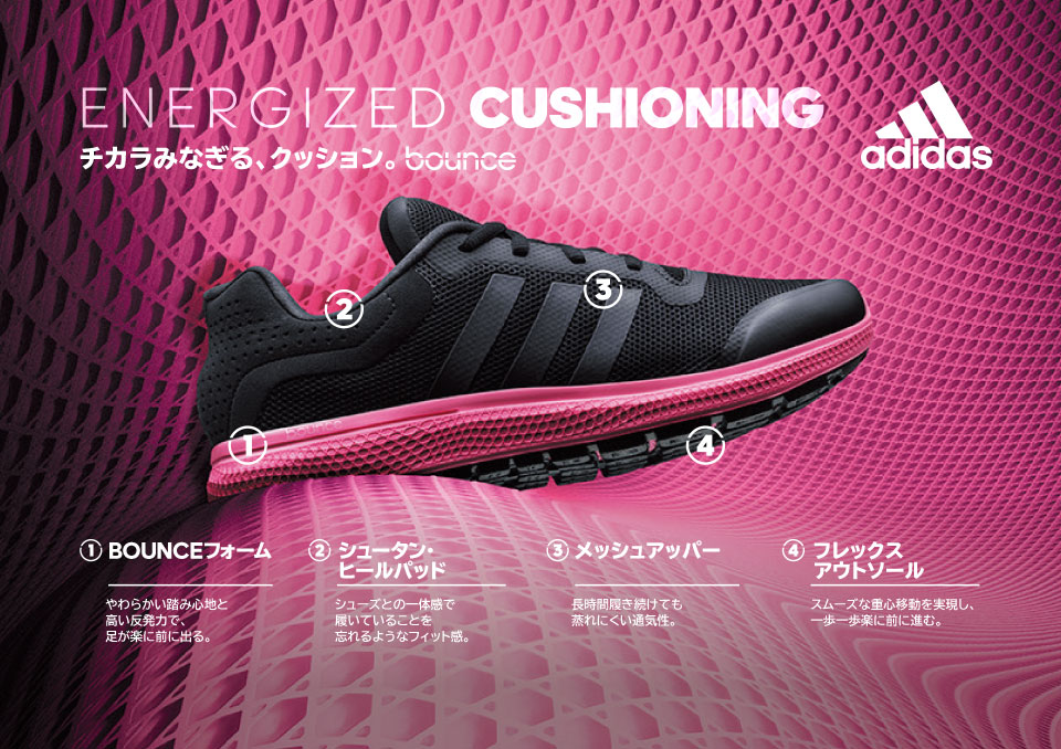 ENERGUZED CUSHIONING