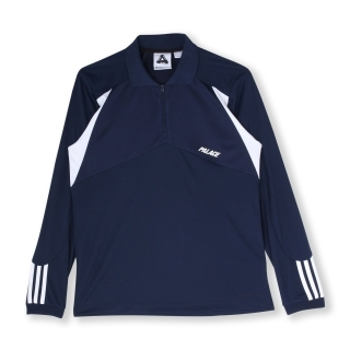 【adidas Originals by PALACE】長袖 ポロシャツ [PALACE LSL POLO SHIRT]