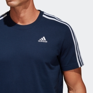 エッセンシャル クラシックス スリーストライプスTシャツ [Essentials 3-Stripes Tee]