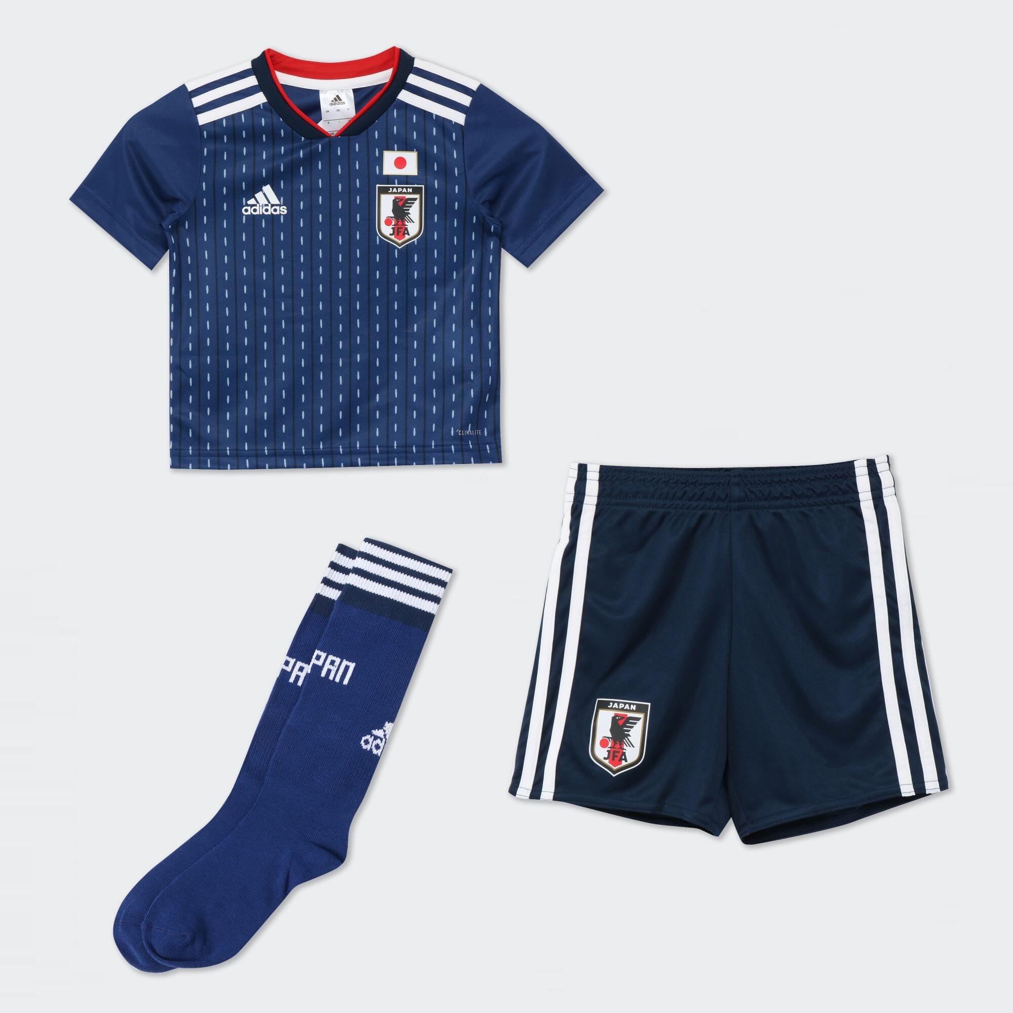 Kidsサッカー日本代表 ホームミニキット【FIFAワールドカップTM モデル】