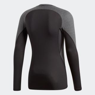 アルファスキン TEAM ヘザーロングスリーブTシャツ