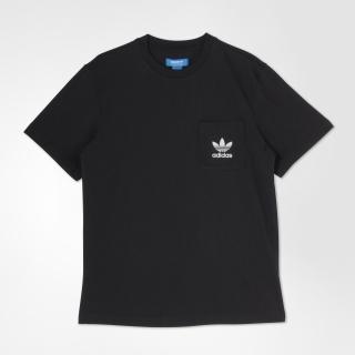オリジナルス Tシャツ[REFLECTIVE POCKET TEE]. adidas Originals