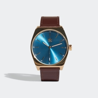 ゴールドメット/ブルー/ダークブラウン(CJ6352)