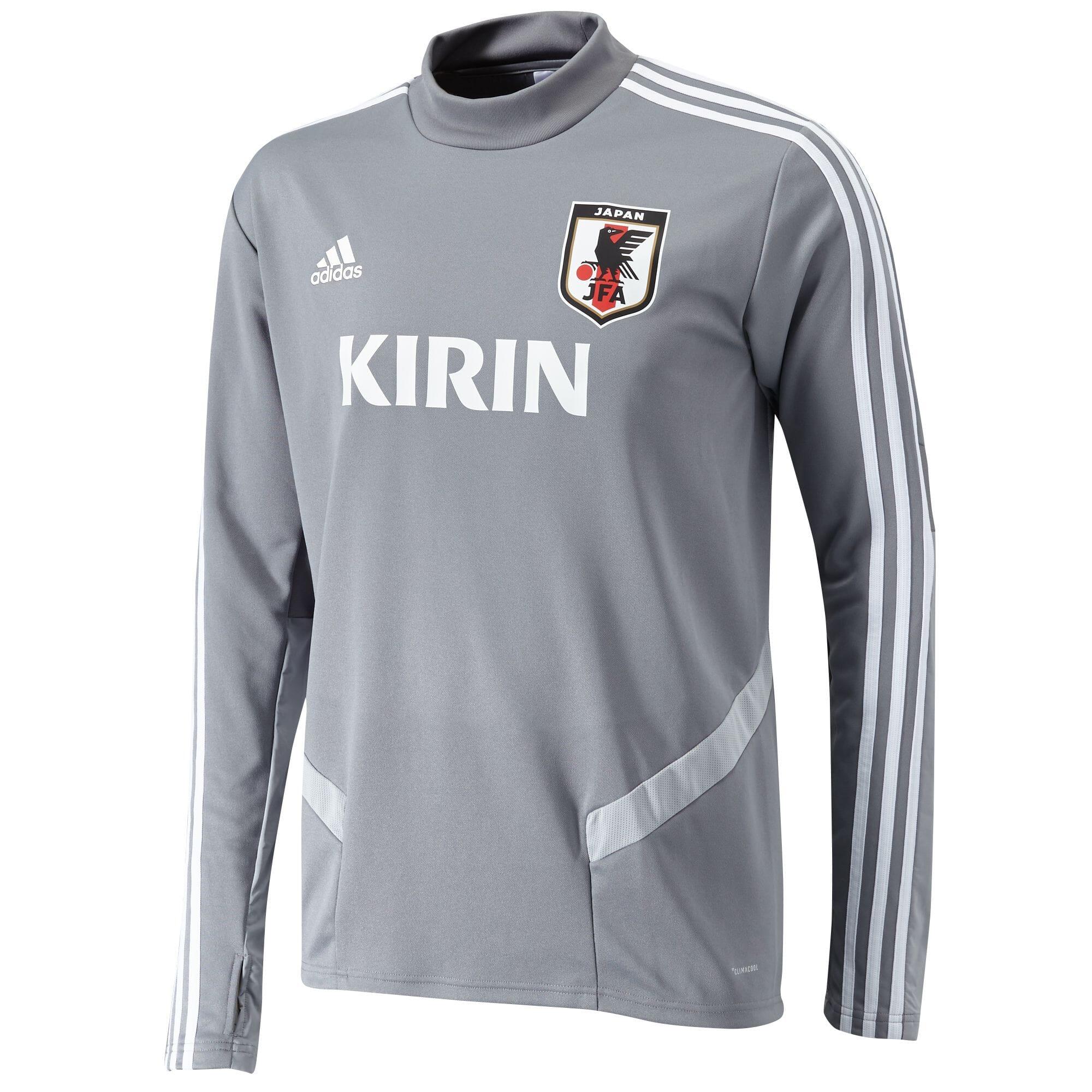 サッカー日本代表TIRO19 トレーニングトップ