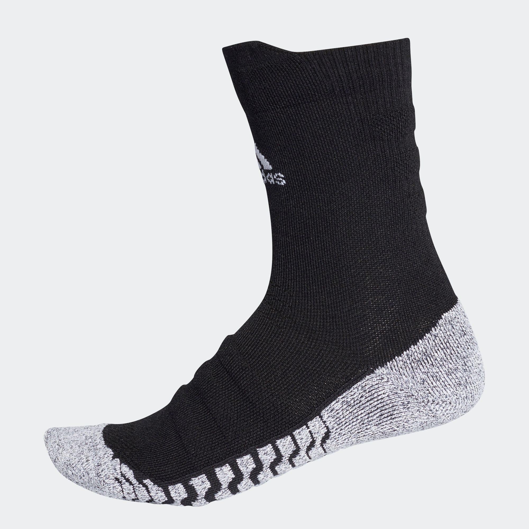 グリップハーフクッション クルーソックス /靴下[アルファスキン/アルファスキンソックス]