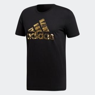 M BADGE OF SPORTS FOIL カモTシャツ