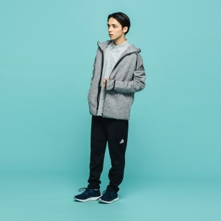 M adidas Z.N.E.フーディー ファストリリース