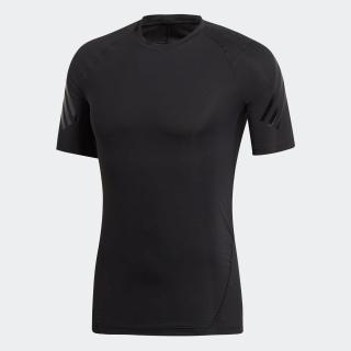 ALPHASKIN ATHELETEスリーストライプスショートスリーブTシャツ