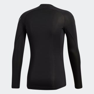 ALPHASKIN ATHELETEスリーストライプスロングスリーブシャツ