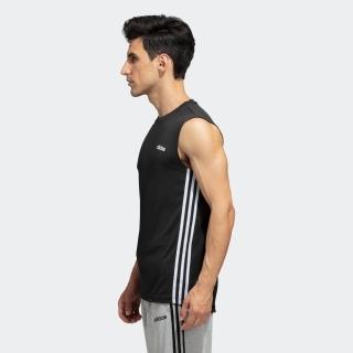 スリーブレス3ストライプスTシャツ