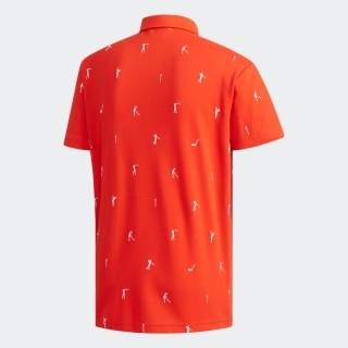 ADICROSS エンブロイダリー 半袖ボタンダウンシャツ 【ゴルフ】