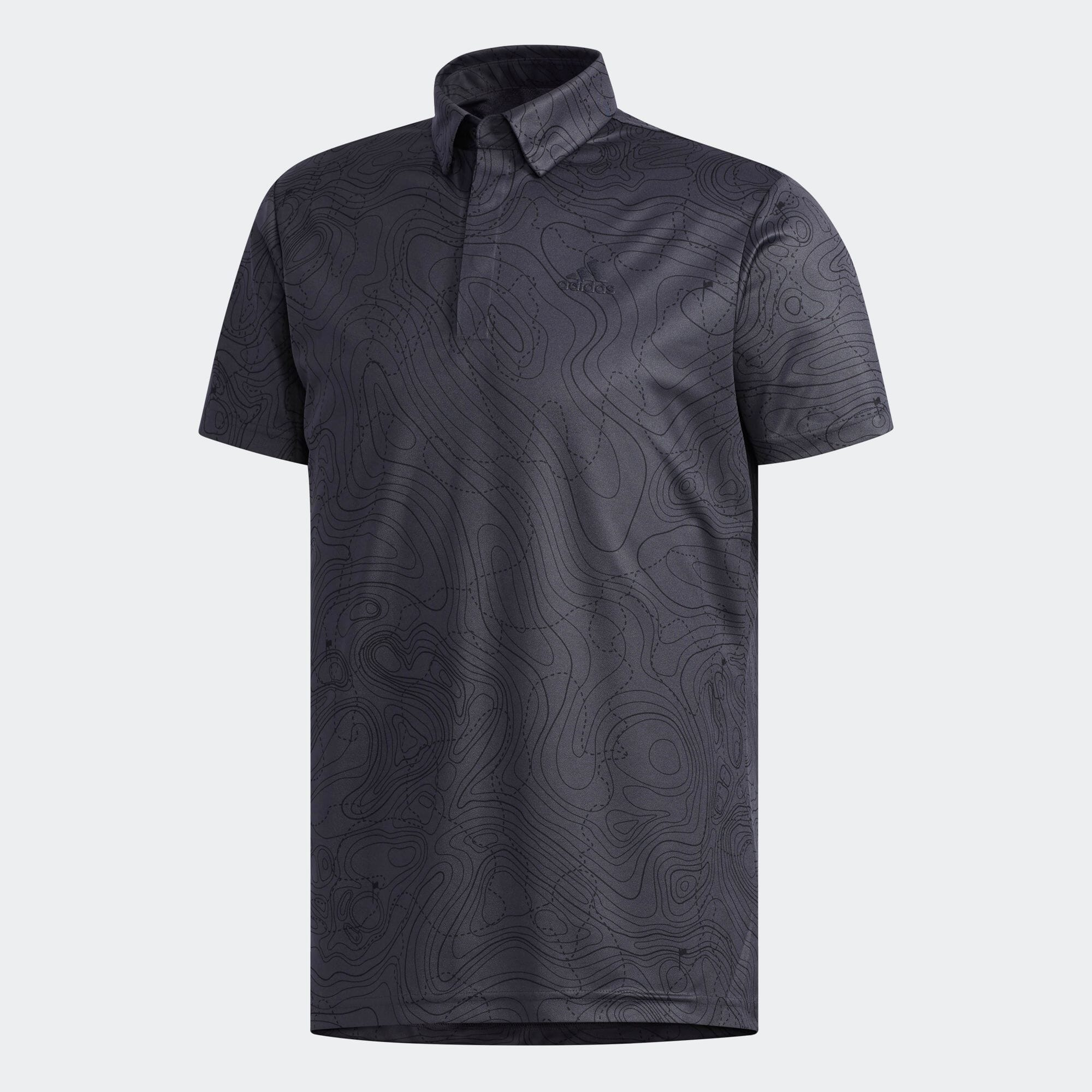 マッププリント半袖ボタンダウンシャツ 【ゴルフ】