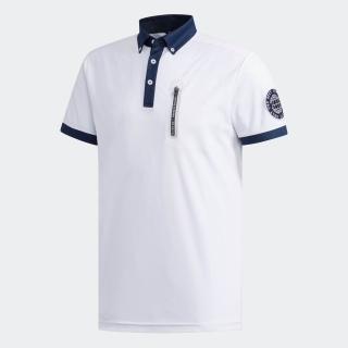 ADICROSS チェストポケット 半袖ボタンダウンシャツ 【ゴルフ】