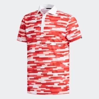 adicrossカモプリント 半袖ワイドカラーシャツ