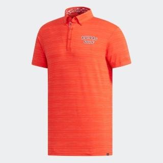 adicrossドットストライプ 半袖ボタンダウンシャツ