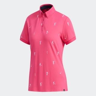 adicross エンブロイダリー 半袖ボタンダウンシャツ