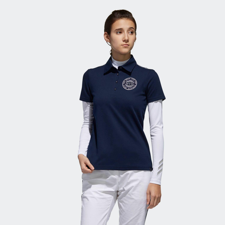 adicross エンブレム レイヤードシャツ 【ゴルフ】