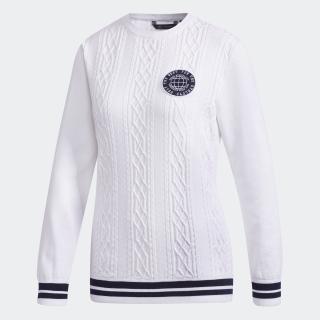 adicross ケーブルボートネックセーター 【ゴルフ】
