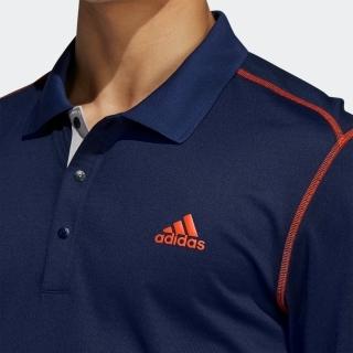 グラデーションボーダー 長袖ポロ / Thermal Polo Shirt