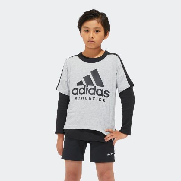 B SPORT ID 2in1 ロングスリーブTシャツ