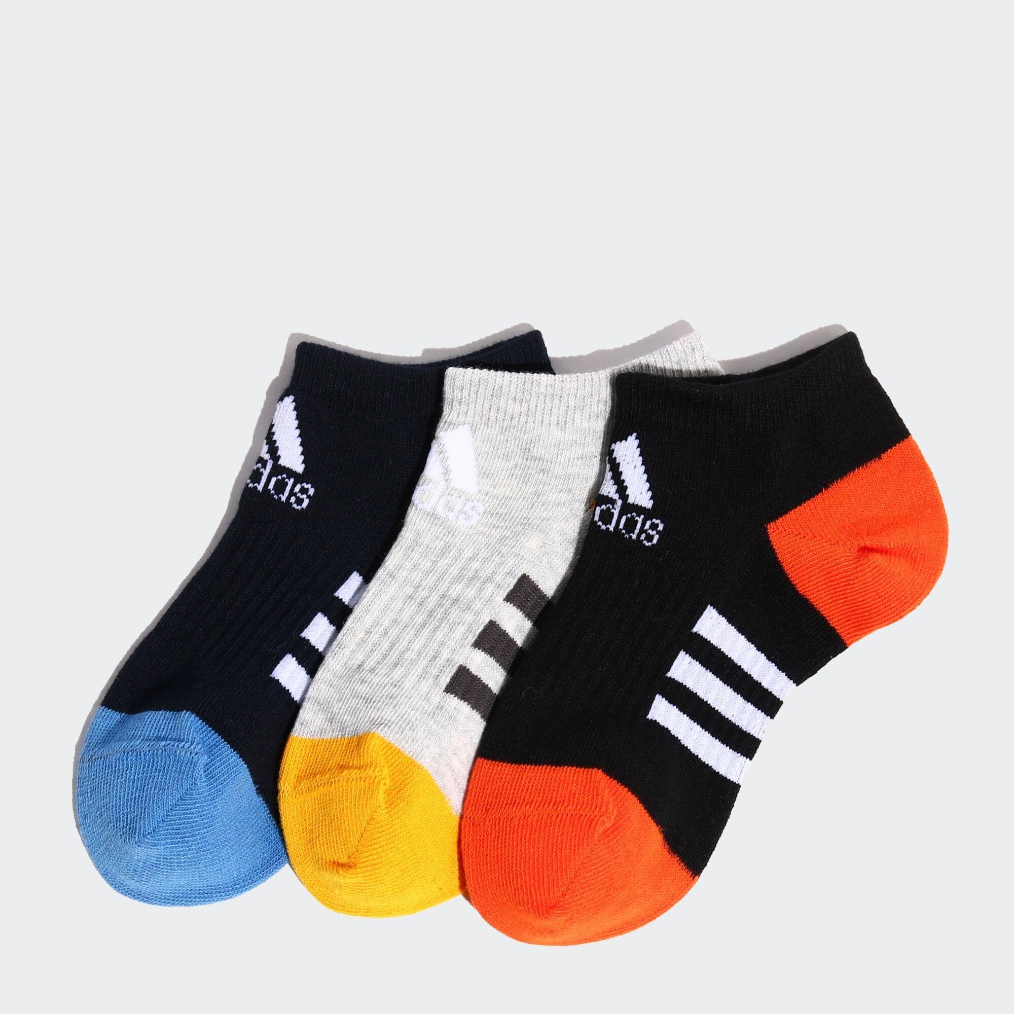 キッズ3Pアンクルソックス adidas