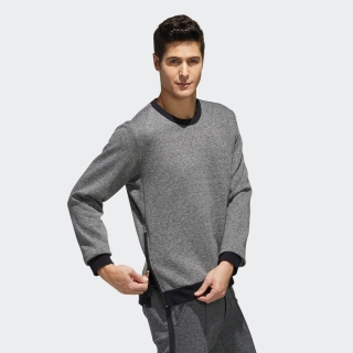 ADICROSS メランジ クルーネック長袖スウェット【ゴルフ】 / ADICROSS Crew Sweatshirt