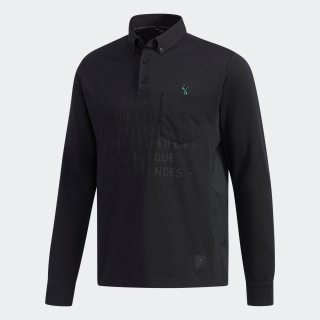 ADICROSS レタード 長袖ボタンダウンシャツ【ゴルフ】 / ADICROSS Polo Shirt