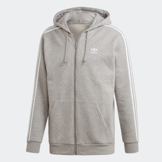 3 STRIPES FULL ZIP HOODIE