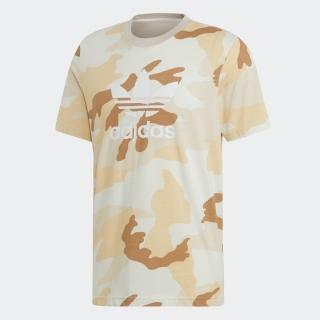 カモ柄のトレフォイルTシャツ [Camouflage Trefoil Tee]