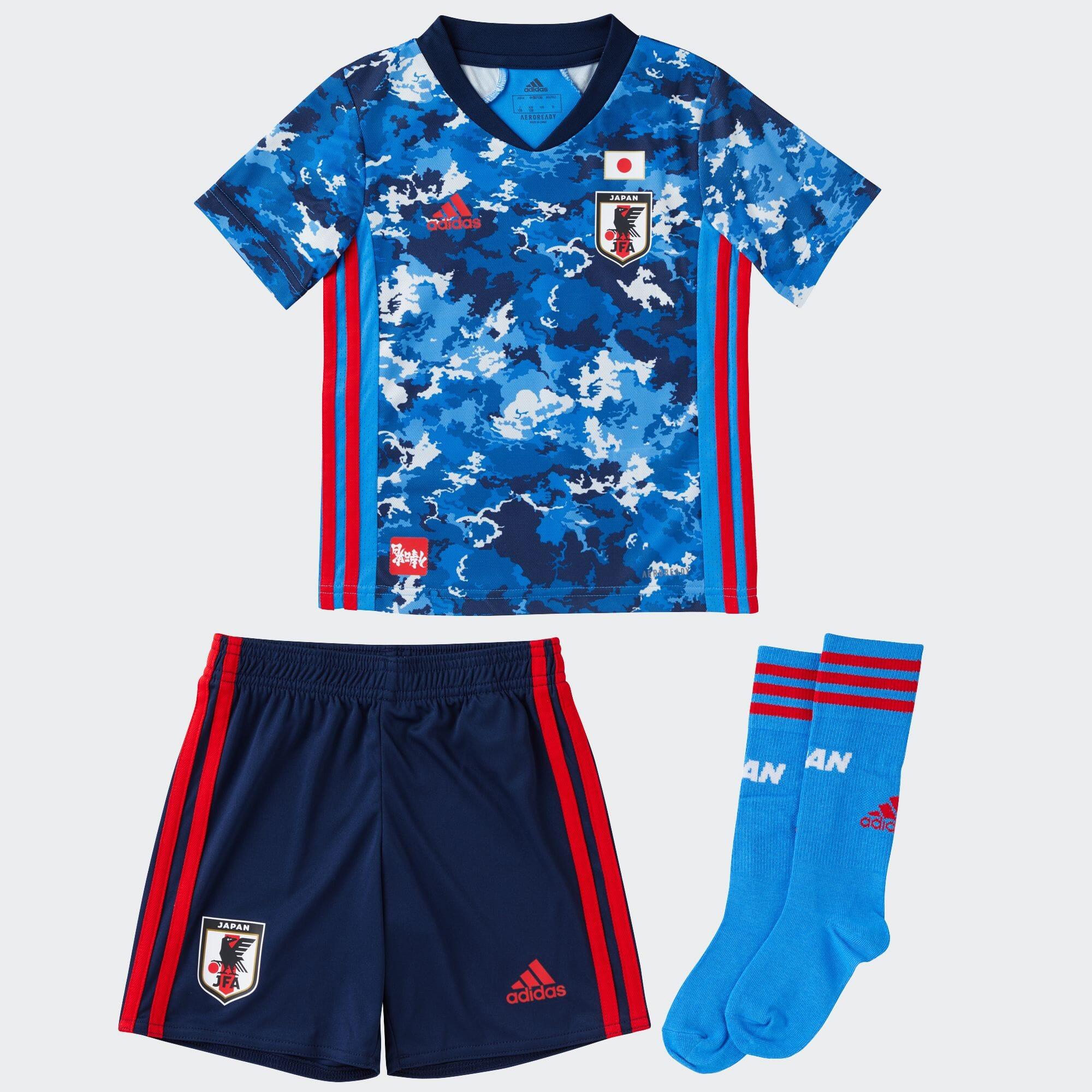 サッカー日本代表 2020 ホーム ユニフォーム ミニキット / Japan Home Mini Kit