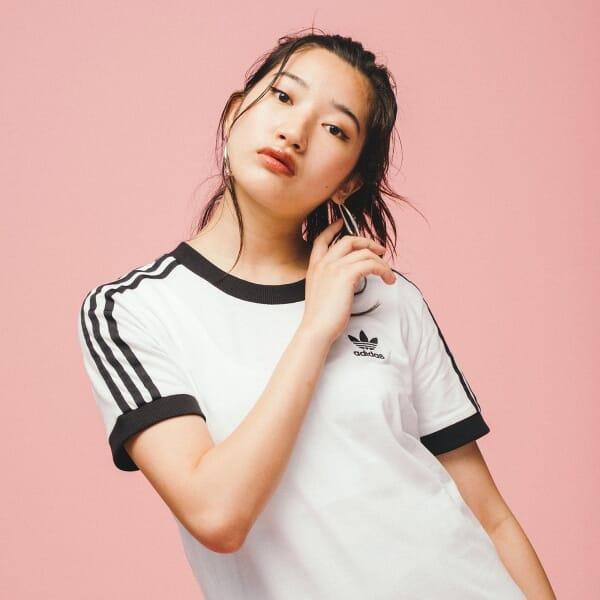 スリーストライプス Tシャツ [3-Stripes Tee]