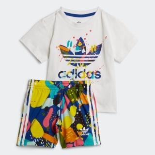 ショーツとTシャツのセットアップ / Shorts and Tee Set