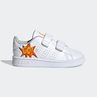 フットウェアホワイト/フットウェアホワイト/オレンジ(EF0305)