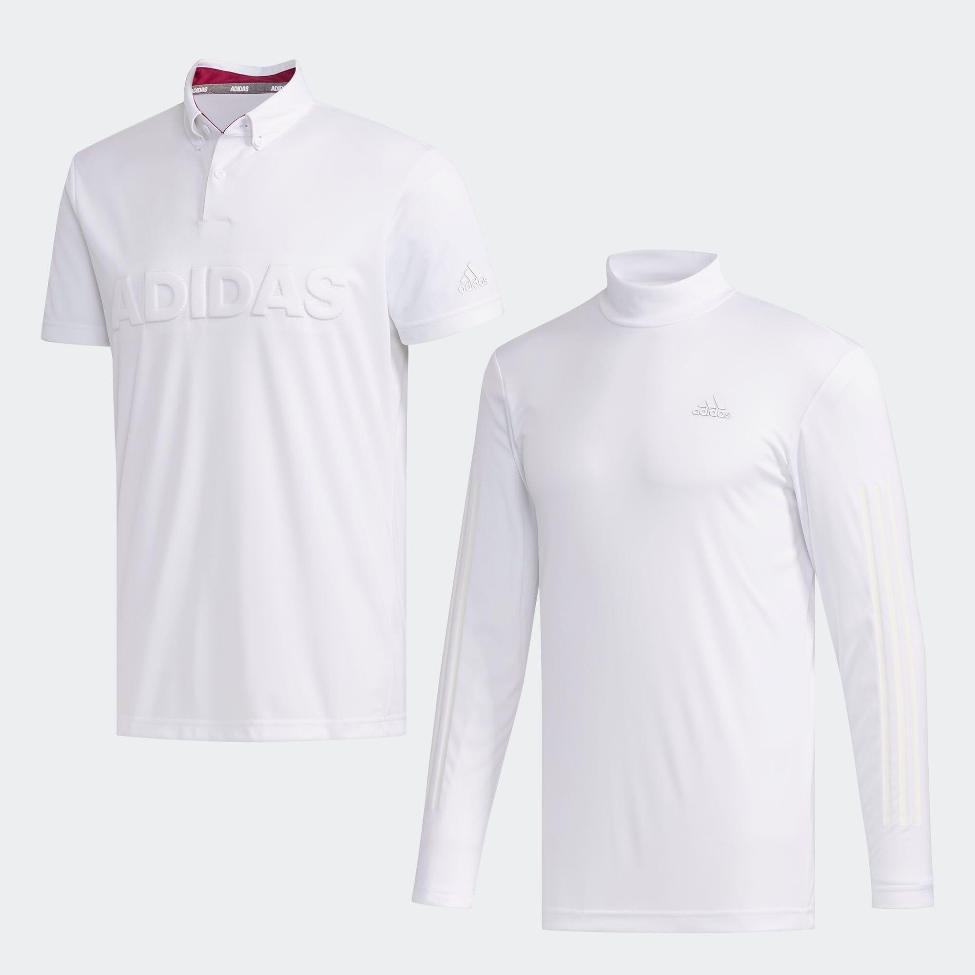 デボスロゴ レイヤード ボタンダウンシャツ【ゴルフ】