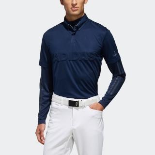 デボスロゴ レイヤード ボタンダウンシャツ / Layered Polo Shirt