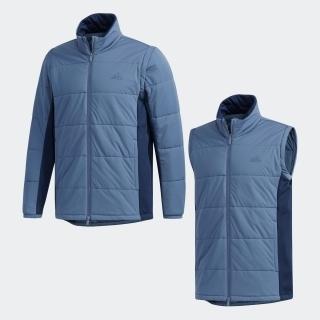 ディタッチャブルスリーブ 中わた フルジップ長袖ジャケット【ゴルフ】 / Stretch Padded Jacket