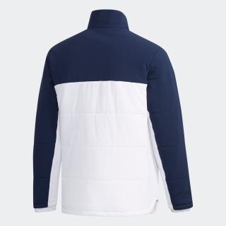 バイカラー 中わた フルジップ長袖ジャケット【ゴルフ】 / Padded Jacket