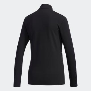 ドットプリント 長袖ボタンモックシャツ【ゴルフ】