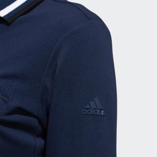 ADIDASロゴ 長袖ポロ【ゴルフ】 / Polo Shirt