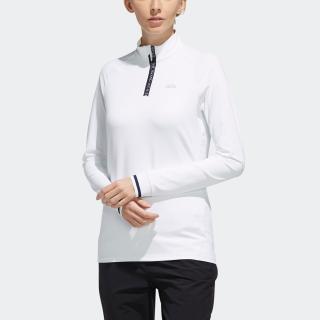 ストレッチ 長袖ジップモックシャツ / LS ZIP MK SHIRT