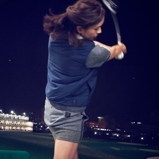 ADICROSS メランジニットスコート【ゴルフ】 / ADICROSS W SKORT
